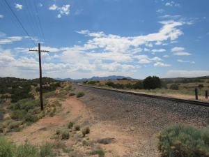 NM Central RR crossing ATSF-looking west 6 15 20