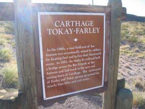 carthage tokay farley marker US380