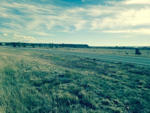 Dawson railroad US56 crossing Taylor Springs NM looking SE 11 13 16