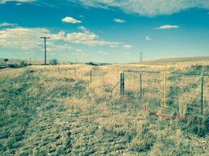 Dawson railroad old grade  US56 crossing Taylor Springs NM looking north 11 13 16
